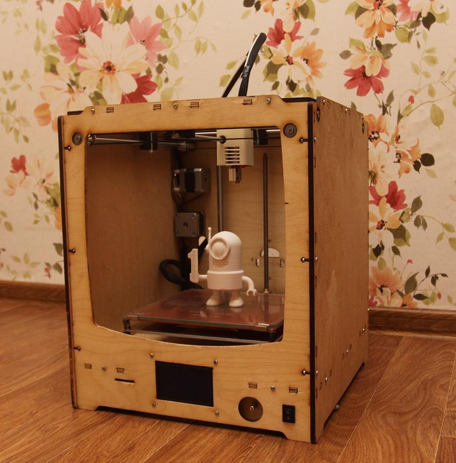 Собираем 3D-принтер своими руками.